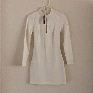 Bancroft open back bebe dress